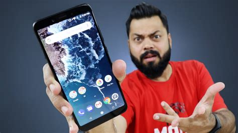 mi a2 unboxing review test gaming performance youtube