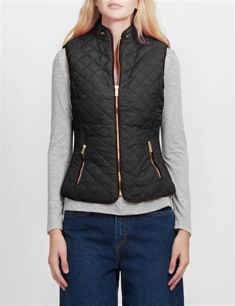 womens quilted vest le3no womens lightweight quilted puffer jacket vest with