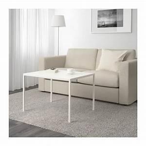 Table Basse Blanc Gris : nyboda table basse plateau double face blanc gris ikea ~ Nature-et-papiers.com Idées de Décoration