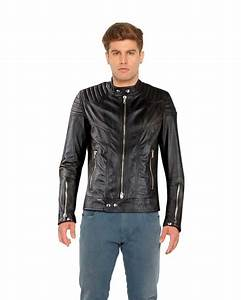 Slim Fit Leather Jacket For Mens Online Leatherright