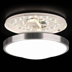 Led Deckenlampe Rund : dunkles bett ~ Whattoseeinmadrid.com Haus und Dekorationen