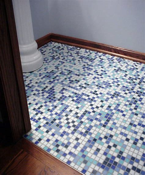 Mosaic Tile Shower Floor - mosaic tile bathroom photos design bookmark 17030