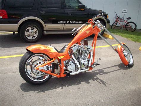2006 Custom Built Covington Chopper Motorcycle