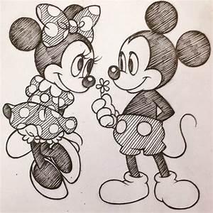 Mickey and Minnie by SAkURA-JOkER on DeviantArt