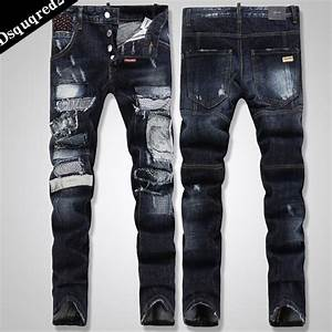 Pics For > Jeans For Men New Style Black