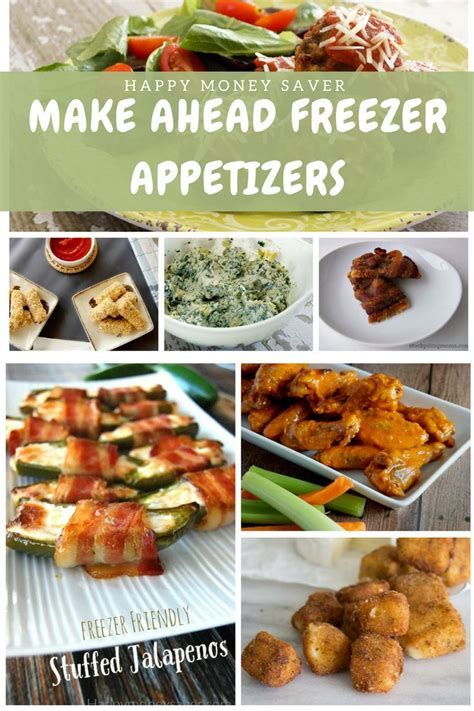 freeze ahead canapes recipes 17 best ideas about ahead appetizers on