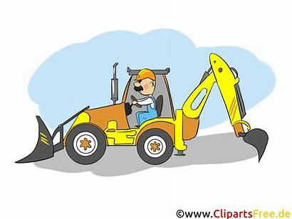 Traktor Cliparts Baumaschine Grafiken Wirtschaft Industrie Clipart