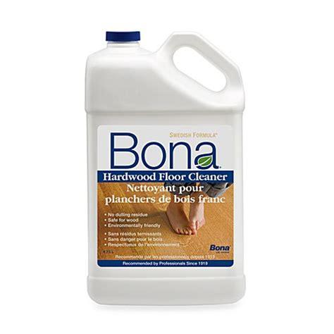 Bona® Hardwood Floor Cleaner Refill  160 Oz  Bed Bath