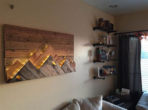 Wall Decor Idea Wood Wall by 15 Best Ideas Of Wall Accents With Pallets