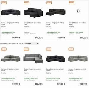 Ou Acheter Un Canapé : o acheter un canap d angle convertible pas cher sur le web ~ Mglfilm.com Idées de Décoration