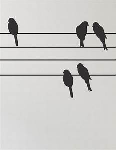 2 birds on a wire | Clipart / Silhouettes | Pinterest ...