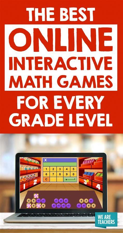 interactive math games   grade