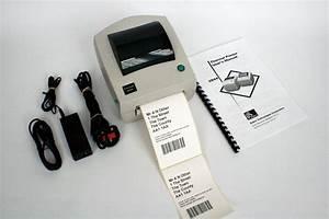 Zebra Ups Lp2844 Direct Thermal Label Printer   Psu Cables