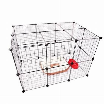 Playpen Rabbit Pet Kennel Portable Dog Fence