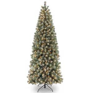 6ft pre lit lakeland spruce slim artificial tree garden world