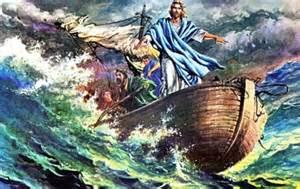 Jesus Calms the Storm Art