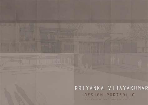 graduate architecture portfolio  priyanka