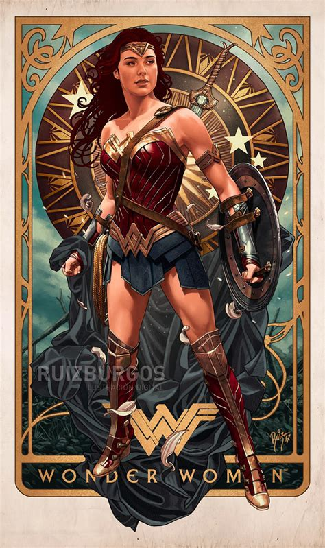 See more ideas about gal gadot, wonder woman, wonder woman art. Wonder Woman by Ruiz Burgos - Home of the Alternative ...