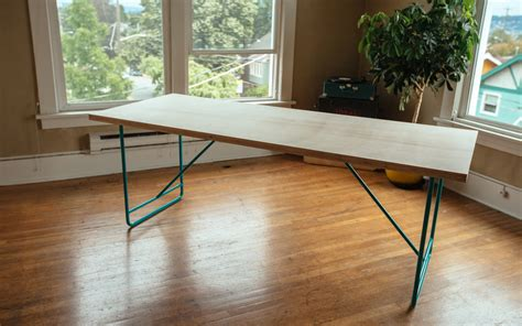 How To Make A Diy Mid Century Modern Dining Room Table