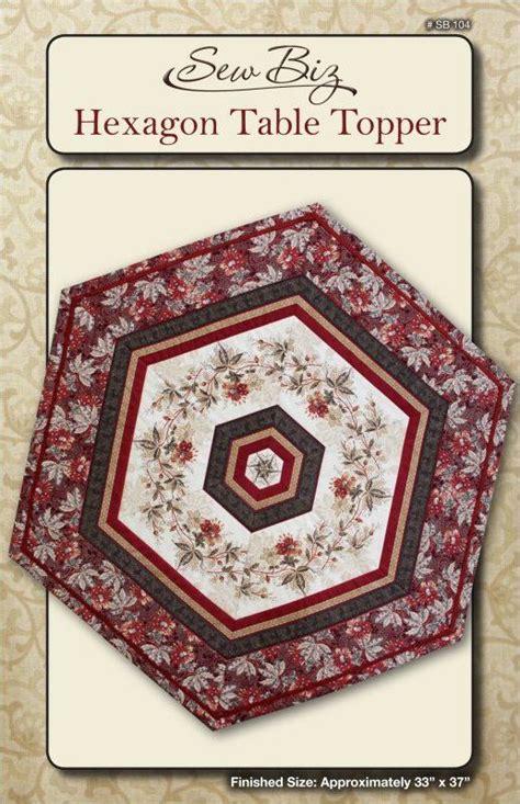 stella table topper pattern hexagon table topper