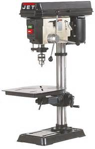 Jet Floor Standing Drill Press by Jet 354165 Jdp 15m 3 4 Hp 15 Inch Bench Drill Press