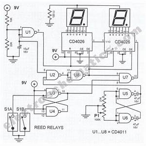 Digital Tachometer Circuit For Bikes