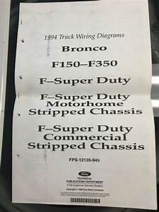 1994 Ford Truck Wiring Diagrams F150