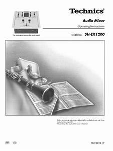 Sh-ex1200 Manuals