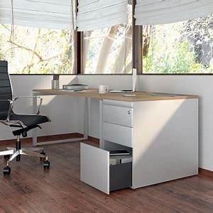 Caisson Rangement Bureau : caisson hauteur bureau rangement bureau ~ Teatrodelosmanantiales.com Idées de Décoration