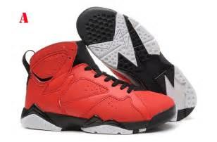 Men's Nike Air Jordan Shoes 7 Red Black  On Sale