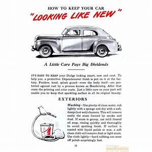 1937 Dodge Truck Drivers Manual Pdf