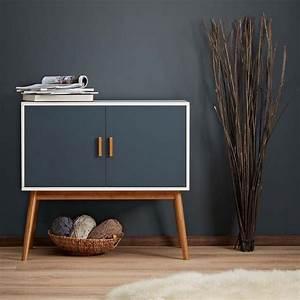 No3 Retro Design Kommode Sideboard Schrank Anrichte Holz