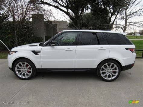 land rover sport white 2017 fuji white land rover range rover sport supercharged