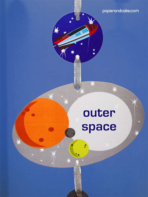 space printable birthday party paper  cake paper  cake
