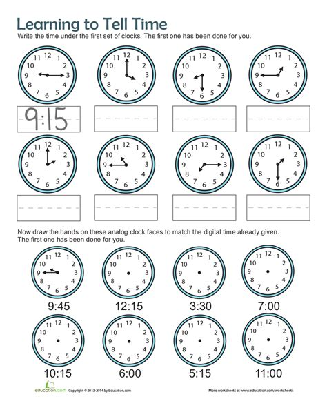 9 time worksheets exles in pdf exles