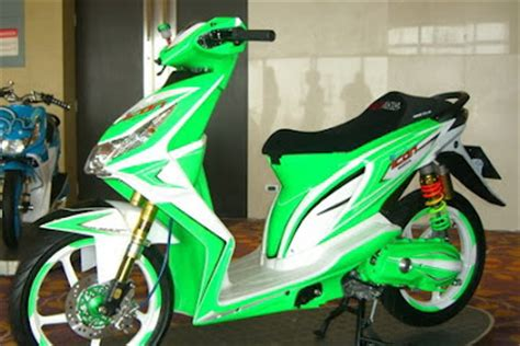 Beat Orange Putih 2014 Modifikasi by Modifikasi Honda Beat Keren Dan Futuristik