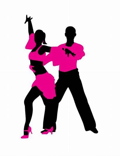 Latin Dancer Dance Ballroom Dancing Silhouette Clipart