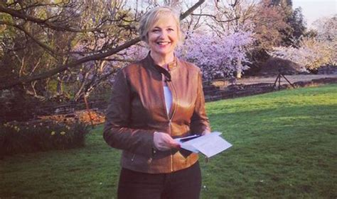 Carol Kirkwood Keeps Viewers Happy In Another Sexy Leather