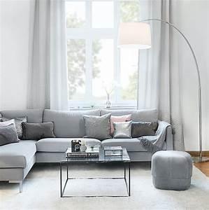 Weiß Graues Sofa : simple chic geradlinige m bel sowie wei und grau in ~ A.2002-acura-tl-radio.info Haus und Dekorationen