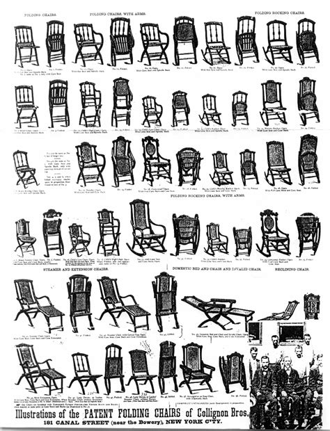 invention of folding rocking chair in u s