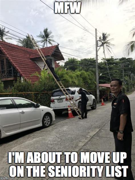 Moving On Up Meme - disaster guy imgflip