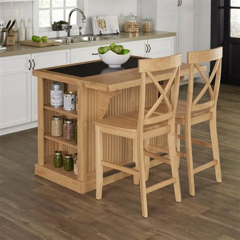 kitchen islands with seating home styles nantucket maple kitchen island with seating