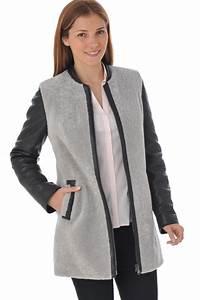Veste En Jean Doublée Mouton Femme : les vestes femme veste en jean femme veste en jean femme ~ Melissatoandfro.com Idées de Décoration