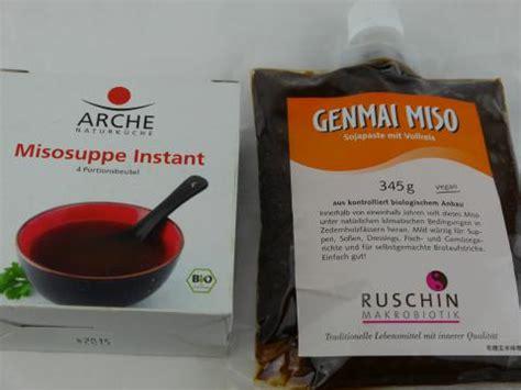 fermentierte sojaprodukte