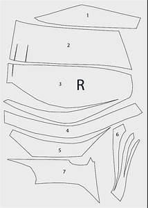 dali lomo batman dark knight chest armor diy cardboard With deathstroke armor template