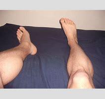 Naked Feet Legs Blue Bed By Alsterkenn On Deviantart