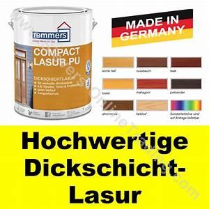 Remmers Holzschutzlasur Test : remmers compact lasur pu dickschichtlasur holzlasur ~ Whattoseeinmadrid.com Haus und Dekorationen