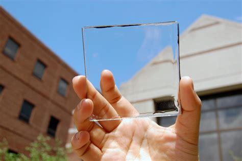 transparent solar glass developed  scientists