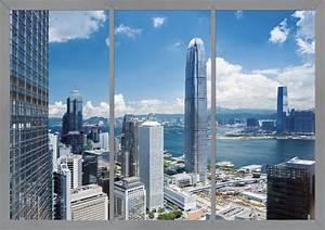 fototapete tapete usa skyline stadt blau 360x254cm With balkon teppich mit skyline new york tapete