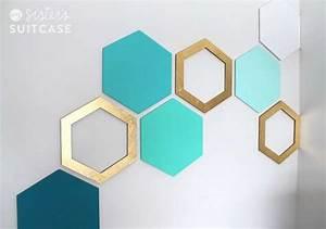 Diy geometric wall decals